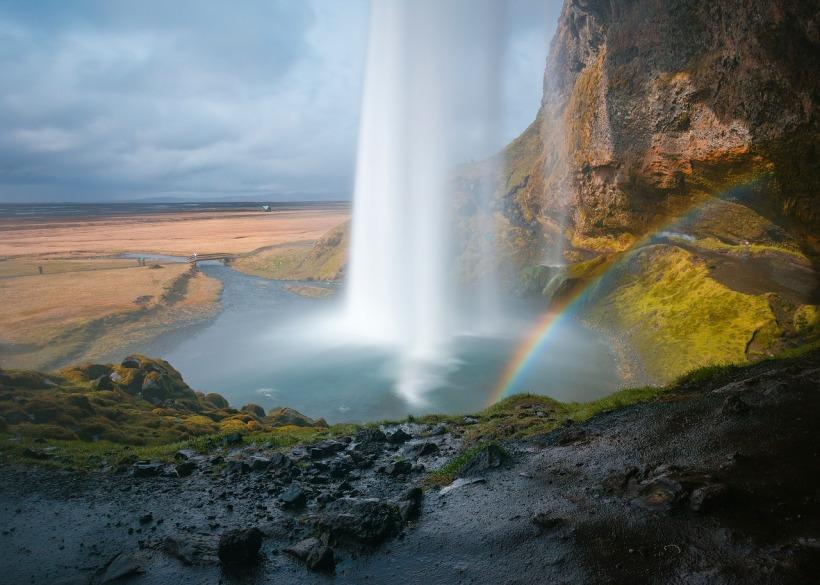 arc en ciel islandais